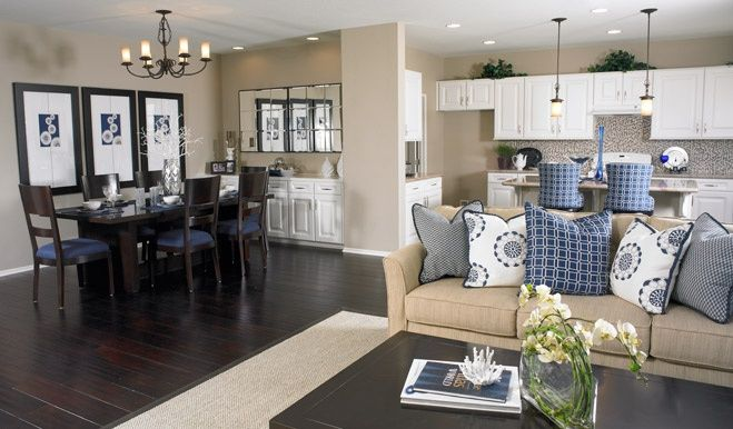 kitchen dining room hearth room combo Living room\/dining\/kitchen - living room and dining room combo