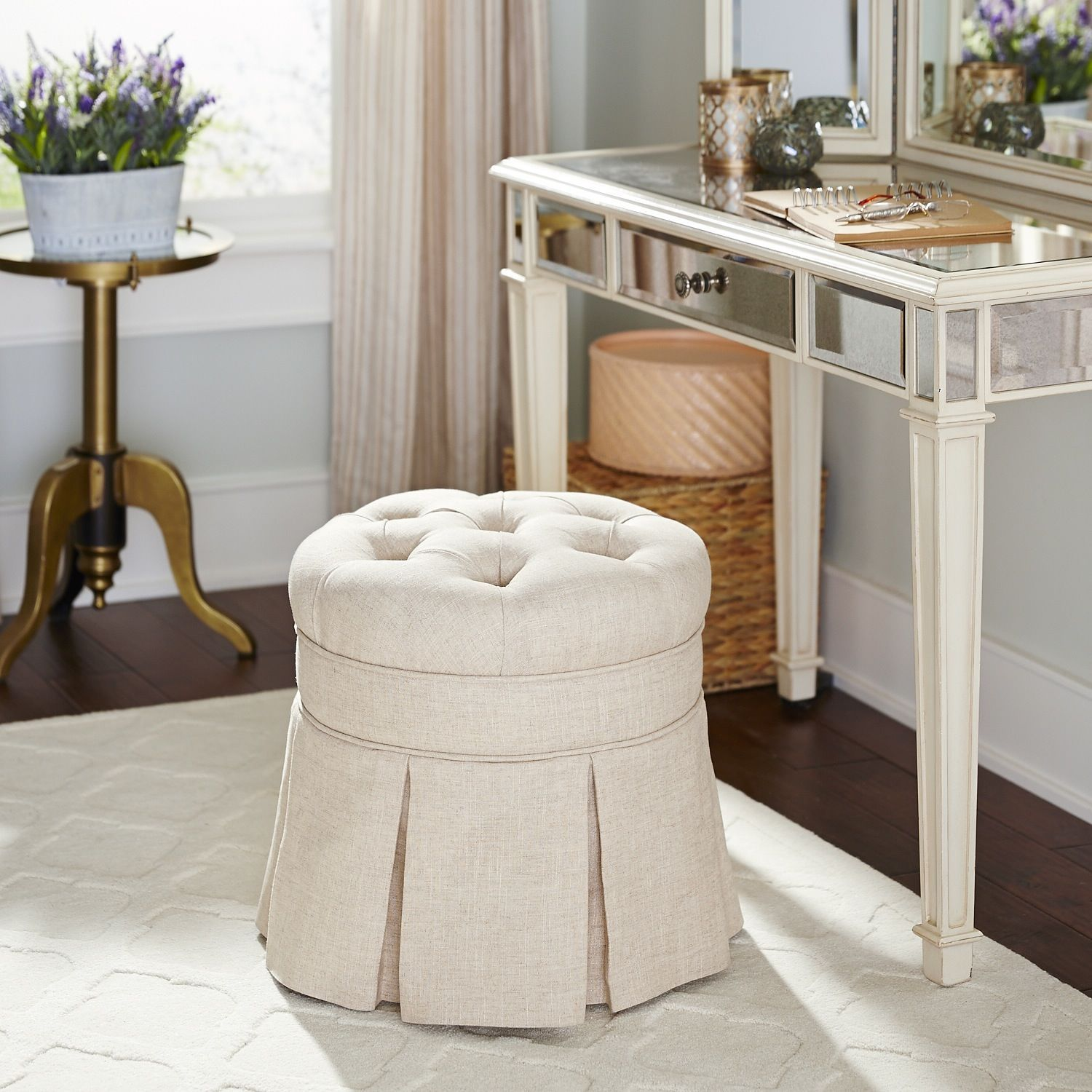 Vanity Stools Or Benches Avery Vanity Stool Pier 1 Imports Bedroom Ideas For