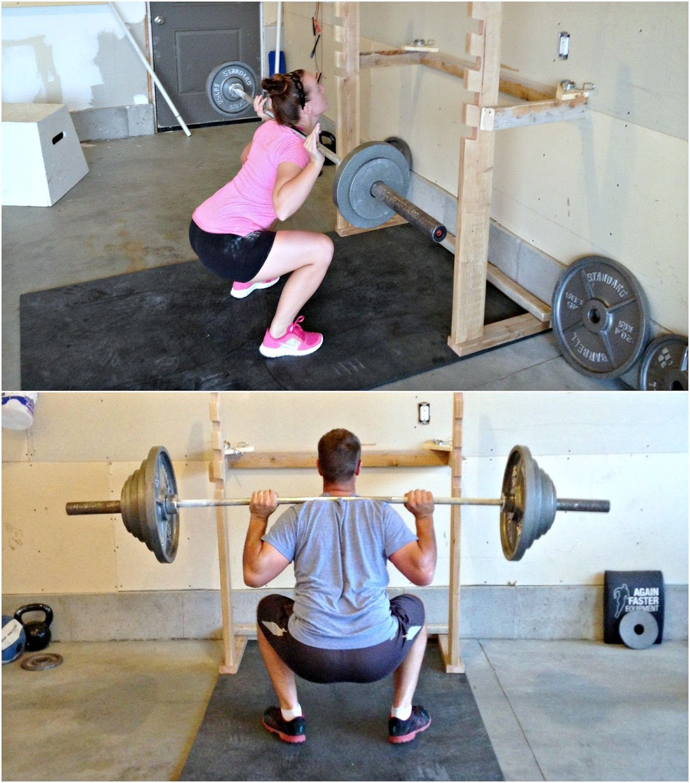 Diy Garage Gym Equipment Simply Sadie Jane Diy Squatrack And Pull Up Bar