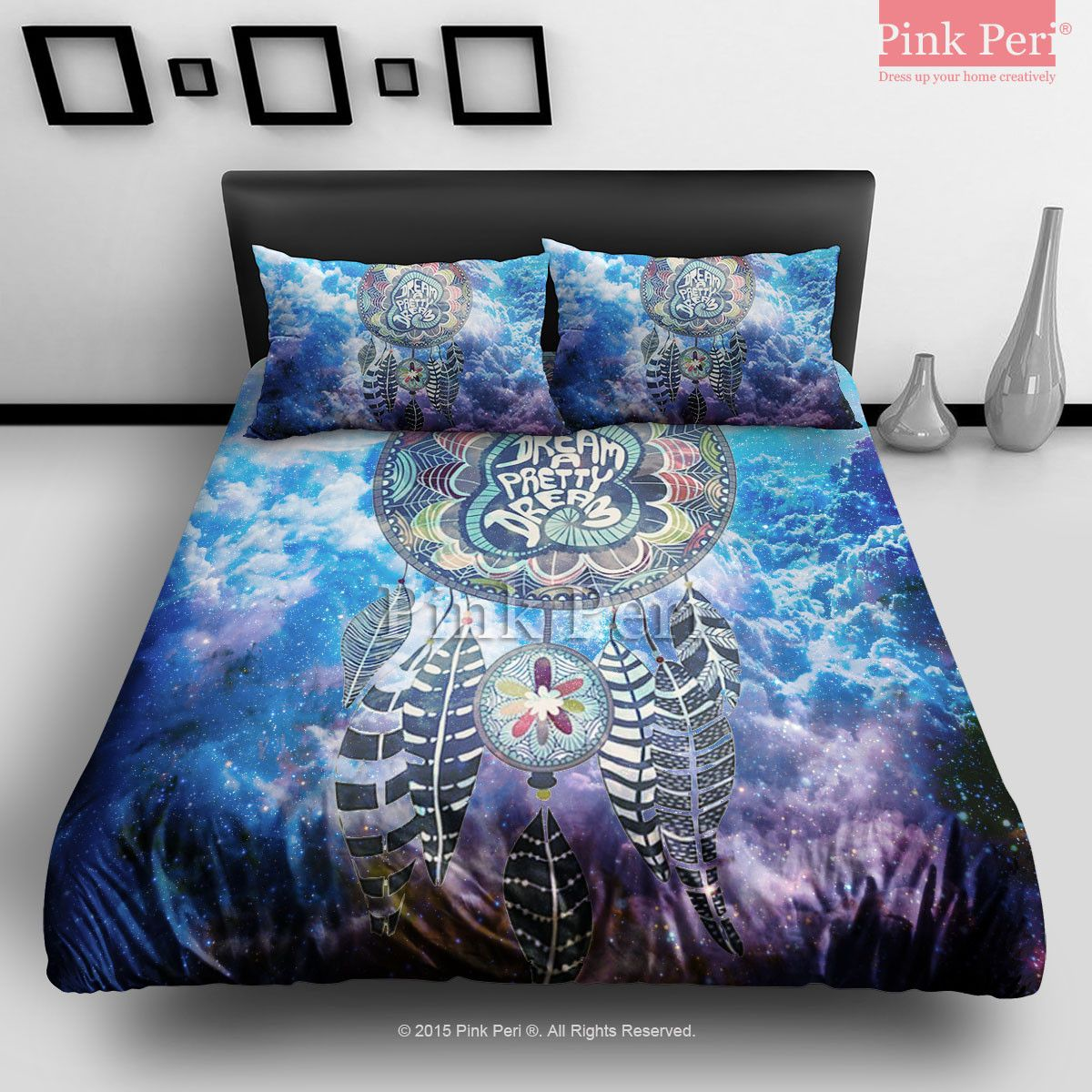 Bettwäsche Galaxie Dream Catcher On Nebula Galaxy Cloud Bedding Sets Home