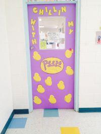 85+ Easter Door Decorations Peeps - Easter Door ...