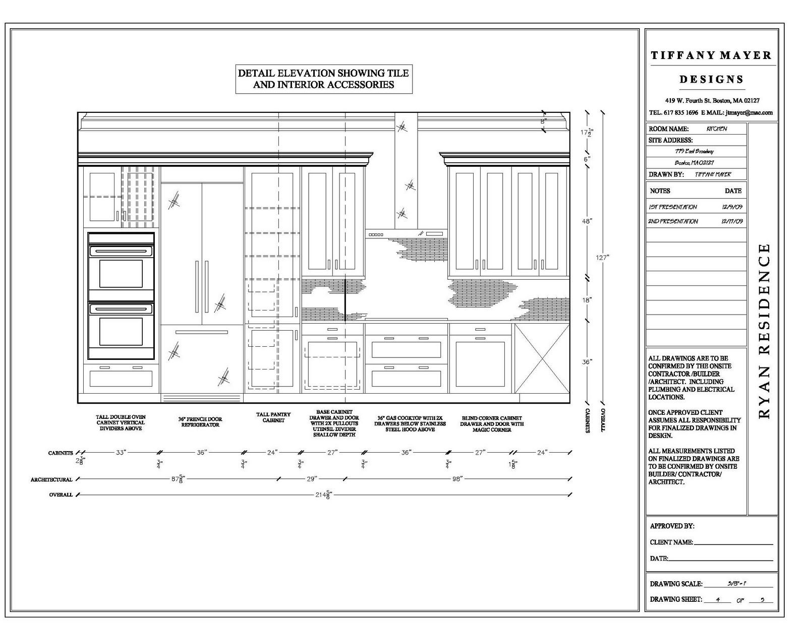 Kitchen Cabinet Elevation Elevation Drawings Cabinet Detail Drawing Size Interior
