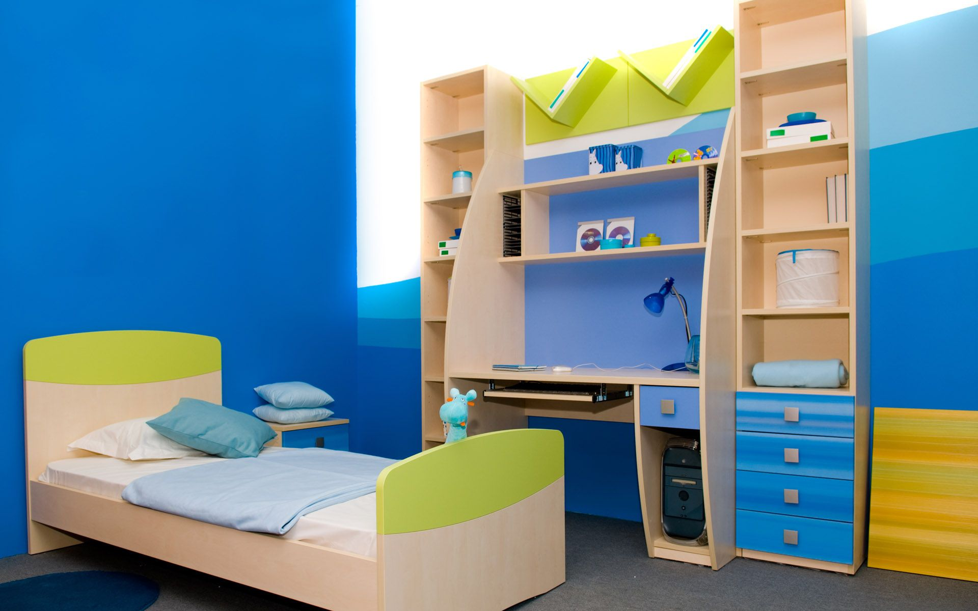 Bedrooms flooring for kids rooms interior