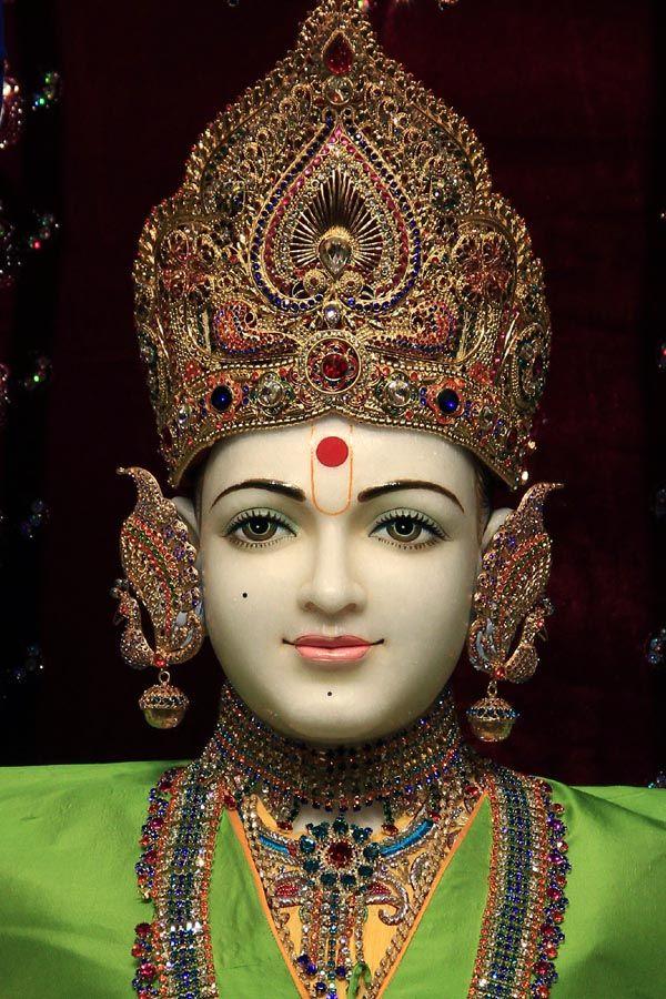 Baps Ghanshyam Maharaj Hd Wallpaper Bhagwan Swaminarayan Baps Swaminarayan Temple Neasden