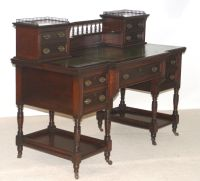 Late Victorian writing desk by Maple and Co - not really ...