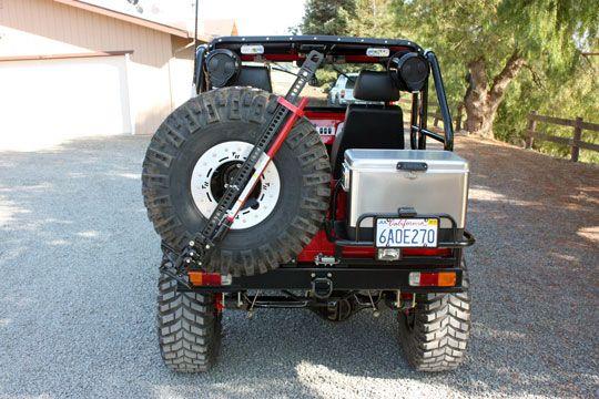 Cooler Rack For Rear Bumper Gasoline Pinterest Land