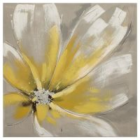 Yellow Flower Oil Painting | www.pixshark.com - Images ...