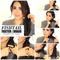 Want to learn how to fishtail braid your own hair the EASY ...