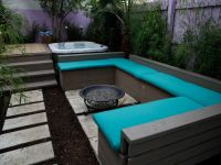 Gorgeous Decks and Patios With Hot Tubs | Diy patio, Hot ...