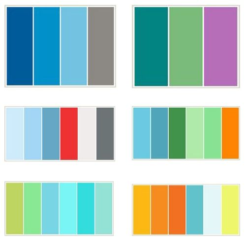 78+ Images About Color Combinations On Pinterest | Color