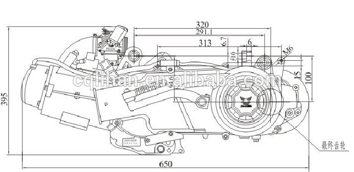 125cc engine diagram