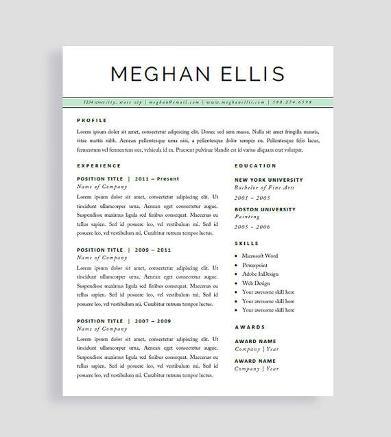 resume references page 115 best template images on pinterest