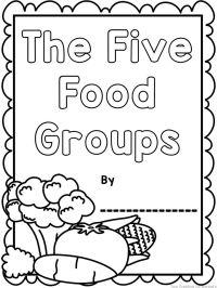 The Food Groups {Printable worksheets, mini book ...