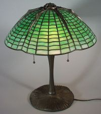 "spider web lamp stained glass pattern | 55: ""Tiffany ..."