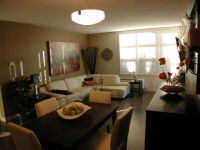 small living room dining room combo designs | accent wall ...