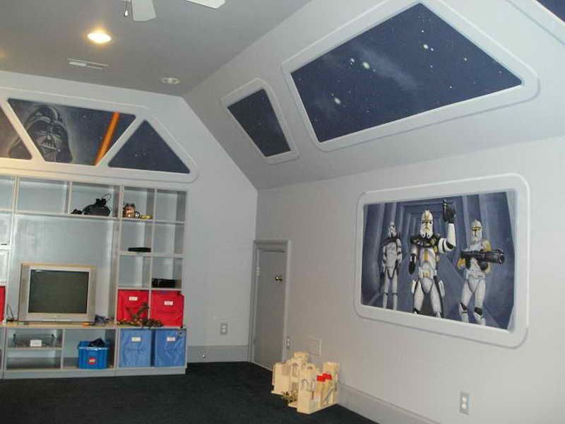 Top Star Wars Kidu0027s Room Bedrooms for Boys Pinterest Kids s - star wars bedroom ideas