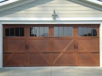 Our new garge door. Wayne-Dalton Garage door Honduran ...