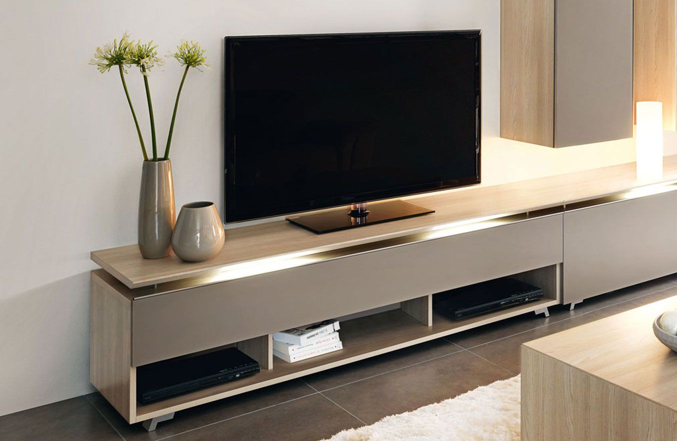 Gautier Meubles Contemporain Banc Tv Collection Artigo Fabricant De Meubles Gautier