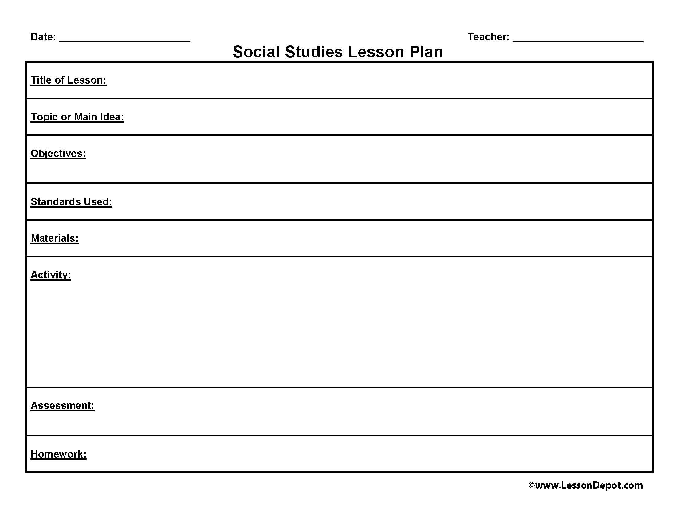 Writing A Letter Lesson Plan High School – Sample High School Lesson Plan Template