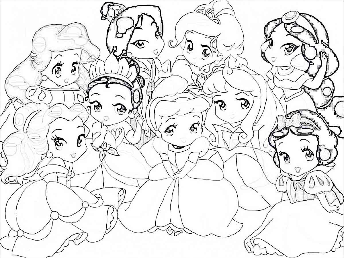 Coloring pages disney princesses only coloring coloringpagesdisneyprincesses adult coloring pages of disney princesses