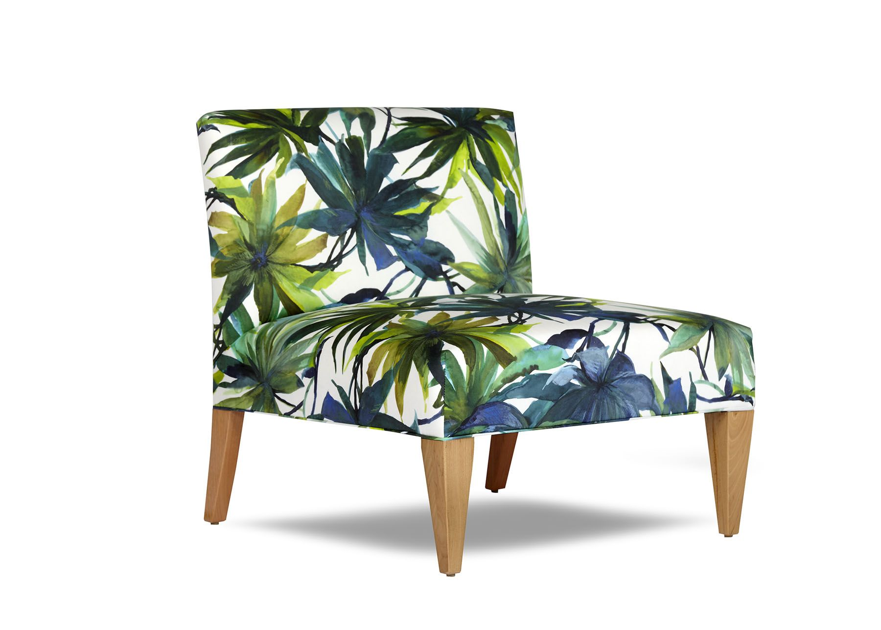 Accent Chairs Melbourne Coco Chair By Arthur G Armless Tropical Upholstery