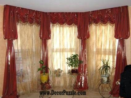 luxury classic curtains and drapes 2015, red curtains designs for - red curtains for living room