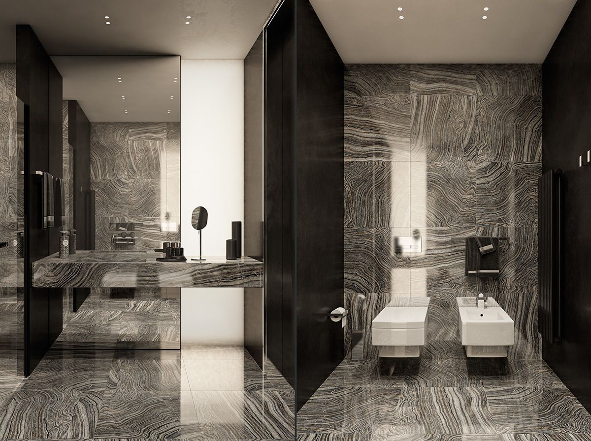 Modern Bathrooms Applying Modern Bathroom Decor With Creative And Perfect