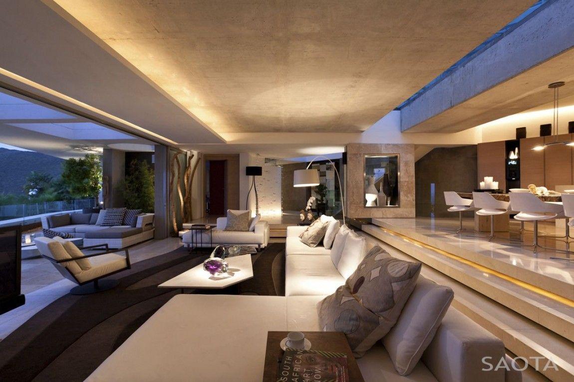 Stylish modern mansion living room on home design with modern mansion living room with tv living