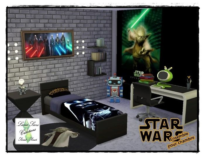 Chambre Adulte Star Wars Ensemble De Chambre Star Wars | Meubles | Pinterest