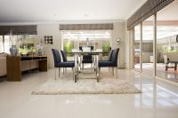 Dining Room Tiles Stratos Limestone polished | Interior ...