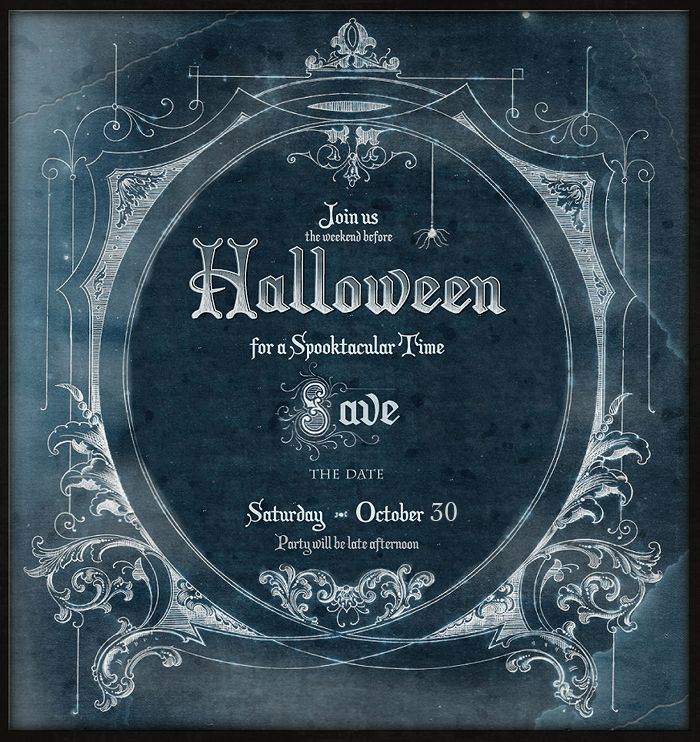 Save the Date for Halloween Free Download Halloween parties - halloween invitation template