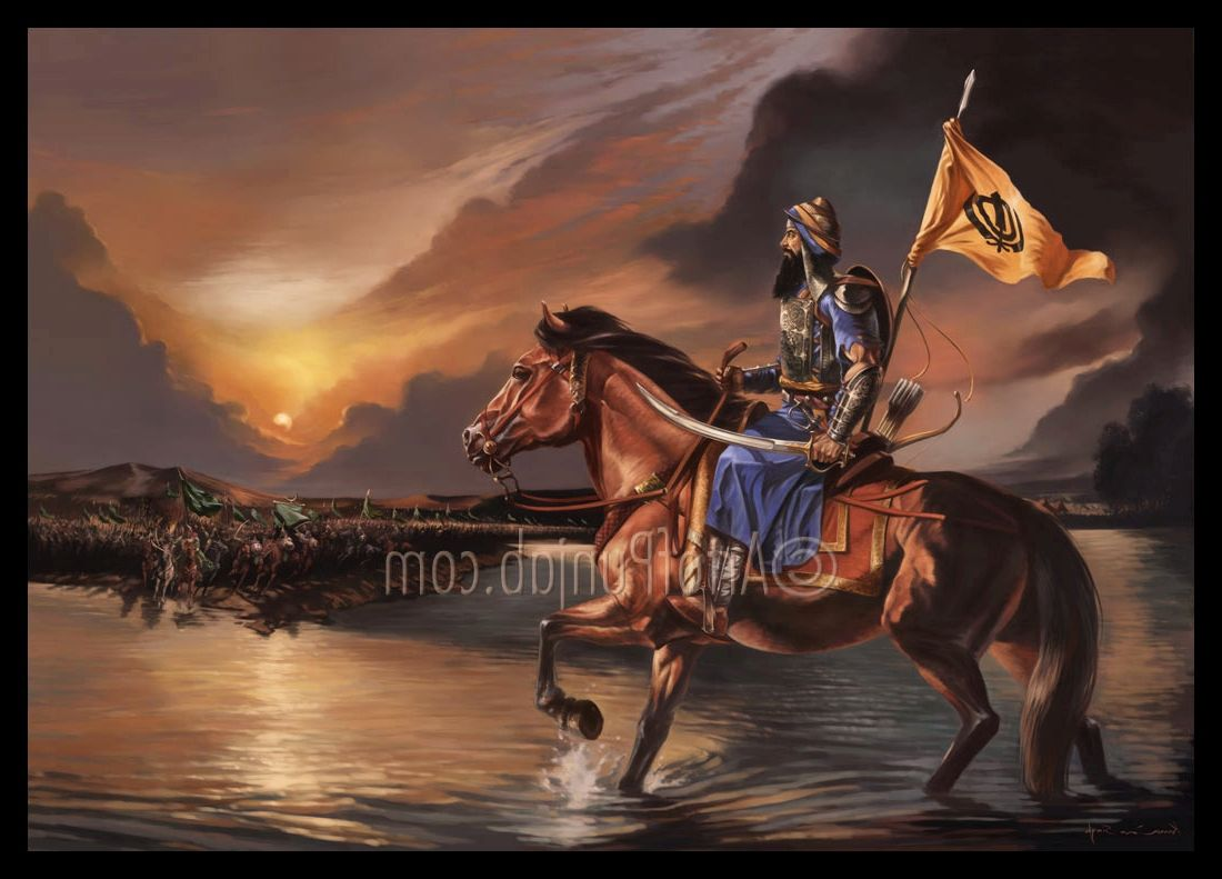 Baba Deep Singh Ji Wallpaper Hd Sikh Warrior Wallpaper Pictures Pinterest Warriors