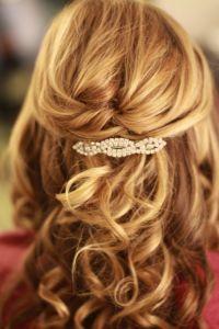 Half Up Half Down Wedding Hairstyles For Short Length Hair ...