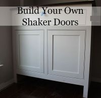 How to Build Shaker Cabinet Doors with a Router | DIY ...