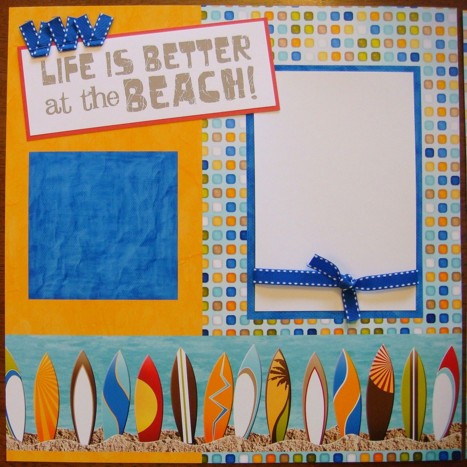 Image detail for beach themed scrapbook layouts beach themed scrapbook layouts 12x12