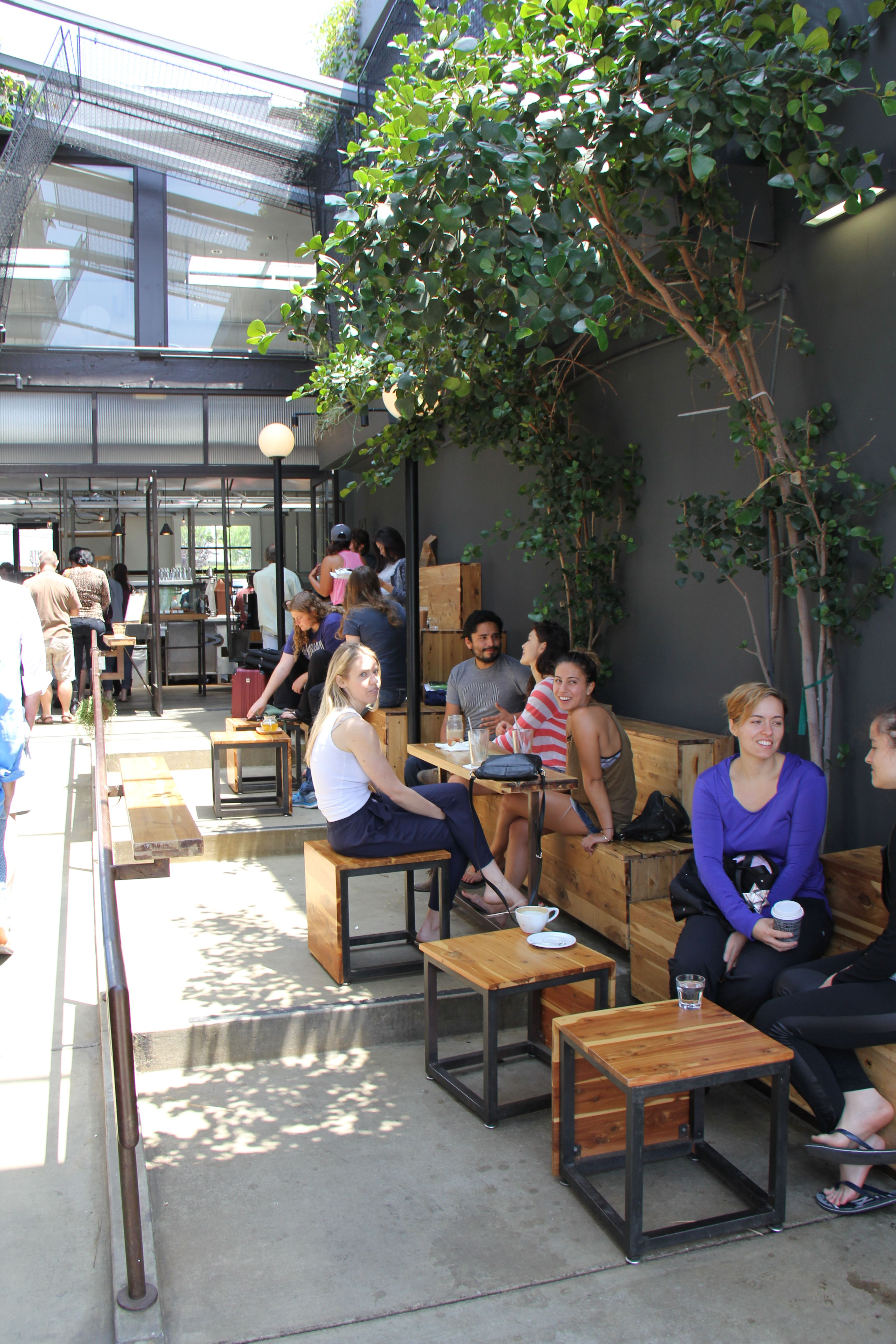 Asien Garten Shop Outdoor Coffee Shop Abbot Kinney Dining With Nature