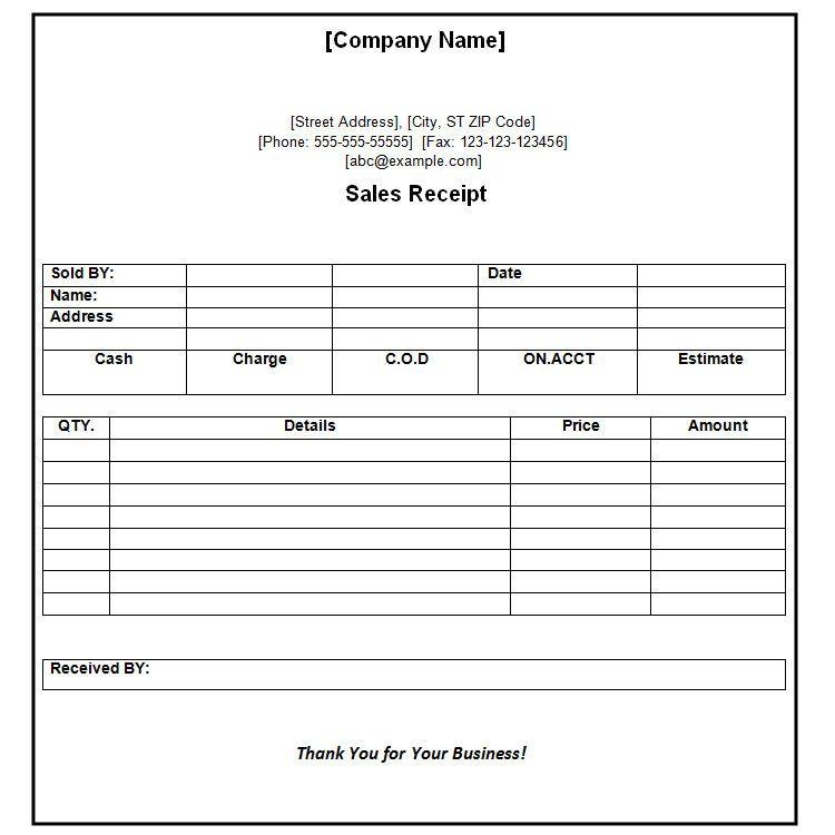 Receipt of Payment Receipt Format , The Proper Receipt Format for - payment receipt sample