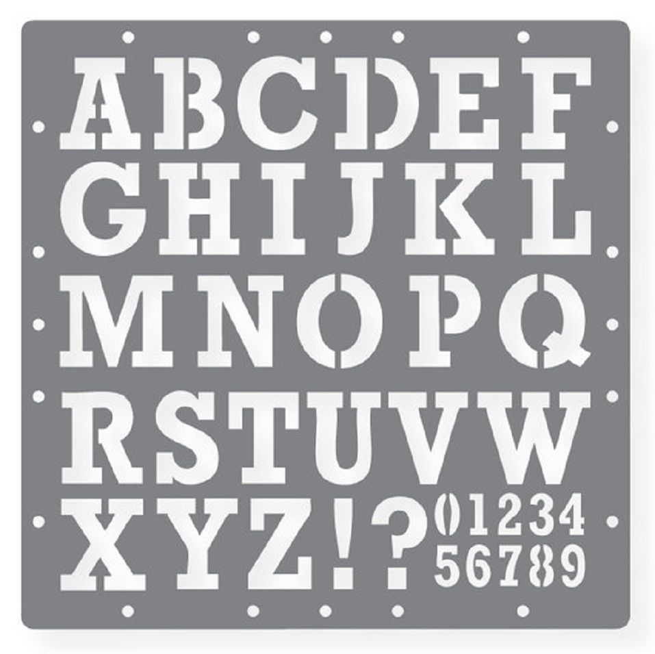 letters and numbers templates