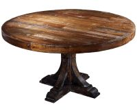 Round Wood Dining Table: Astonishing Taracea Moelle Monty ...
