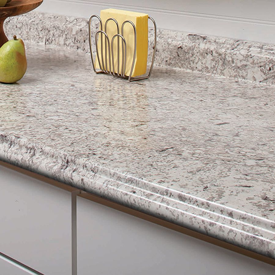 formica kitchen countertops Shop VT Dimensions Formica 4 ft Ouro Romano Etchings Straight Laminate Kitchen Countertop at Lowes