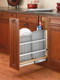 Kitchen Storage // Kitchen Cabinet Organizer on Tray ...