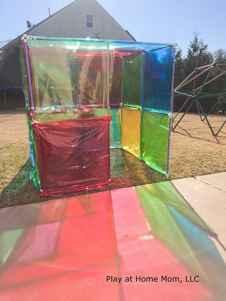 Stained Glass House Activities For Children Imagination - home playground ideas