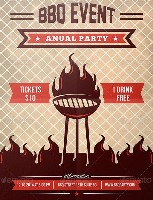 BBQ Summer Party Flyer - http\/\/wwwffflyer\/bbq-summer-party - bbq flyer