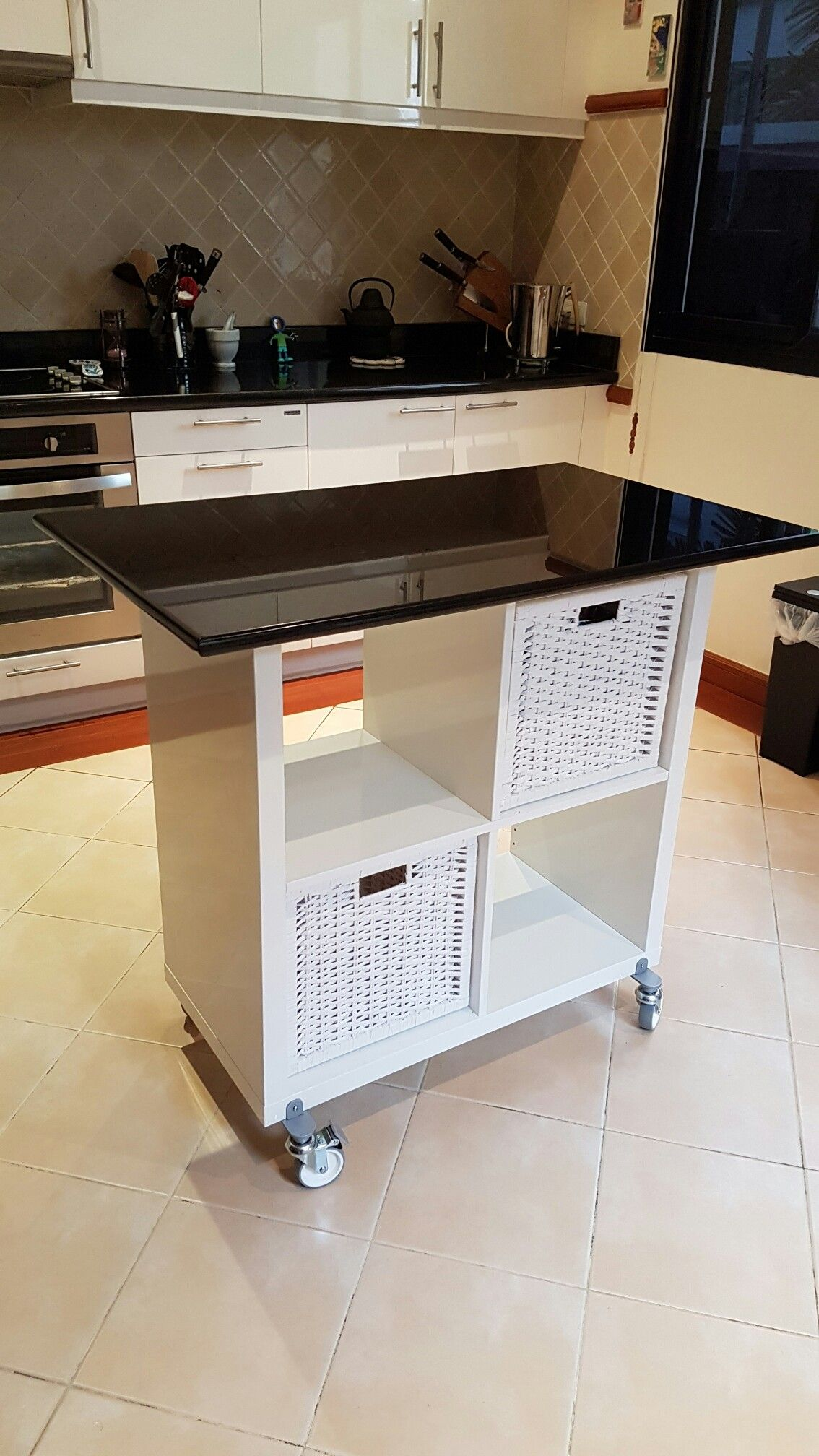 Ikea Hacks Kallax Küche Ikea Kallax Hack For Kitchen Island Phuket Villa Ideas