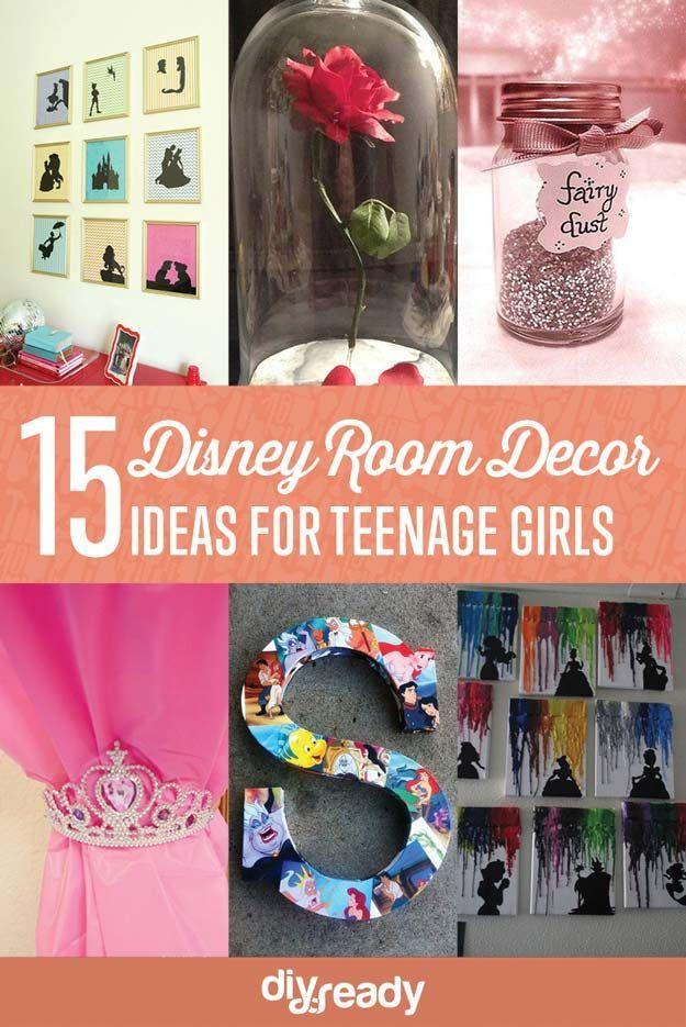 Disney Bedroom Designs for Teens Disney rooms, Diy room decor - diy teen bedroom ideas