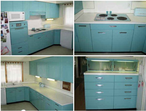 St Charles Kitchen Cabinets Aqua Ge Metal Kitchen Cabinets For Sale On The Forum