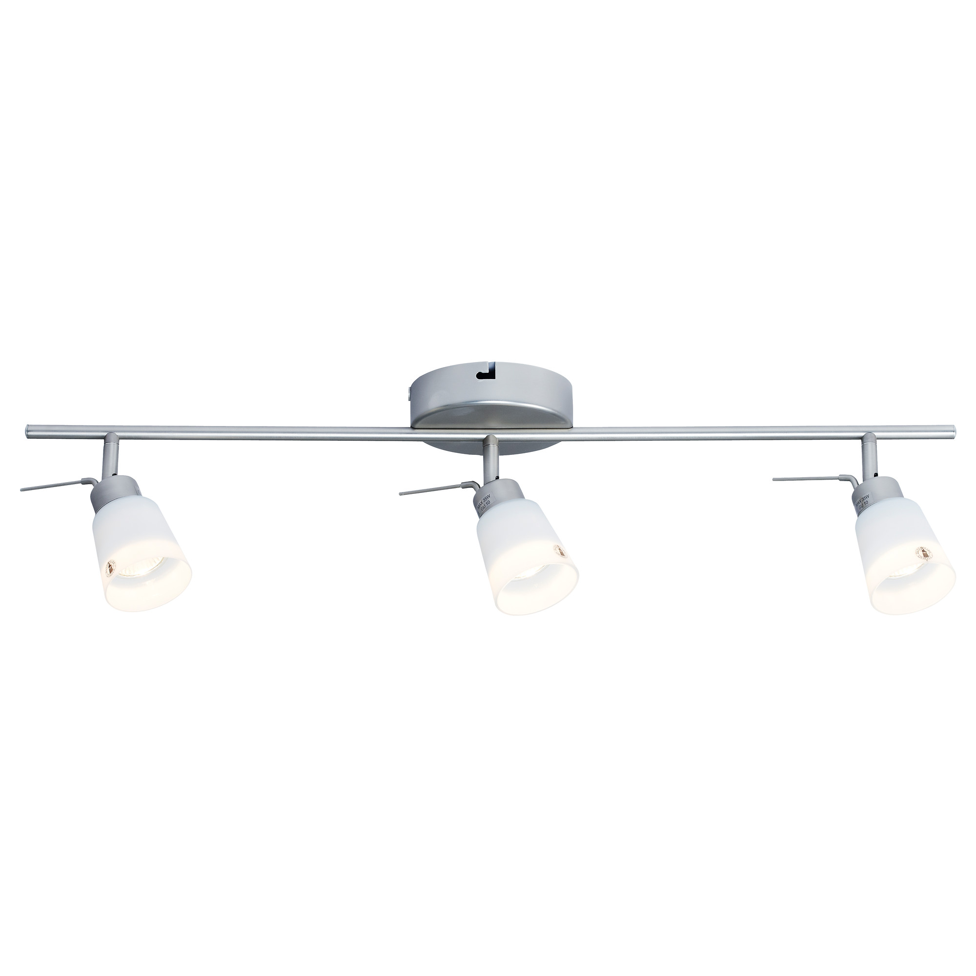 ikea kitchen lighting BASISK Ceiling track 3 spotlights IKEA lighting replacement for kitchen