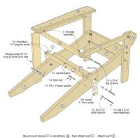 Folding Adirondack Chair Plans Free Download - Find ...