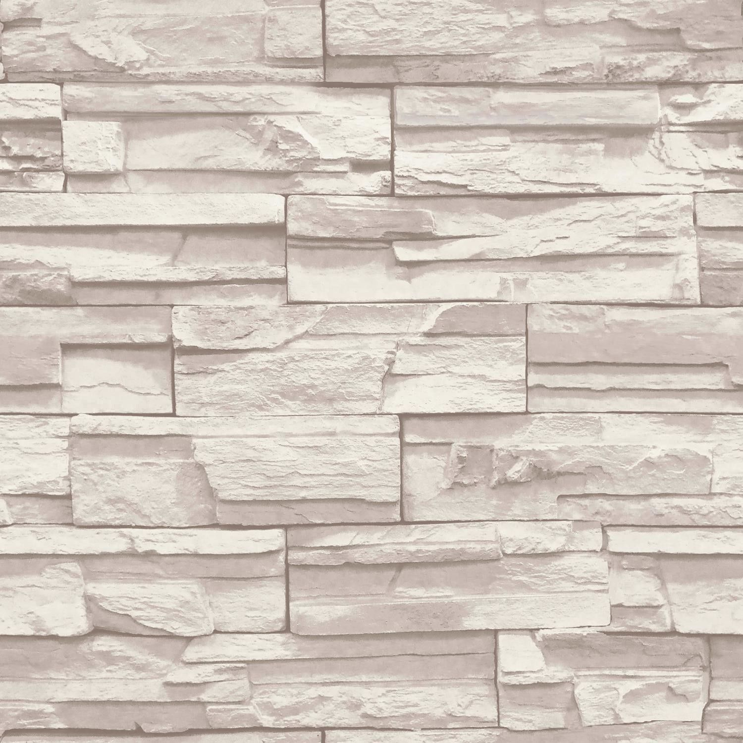 3d Effect Stone Brick Wall Textured Vinyl Wallpaper Self Adhesive Features Design Match Straight Packaged And Sold As A