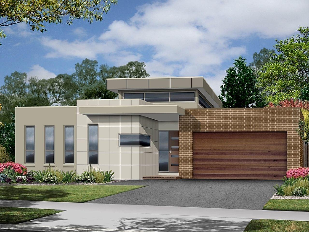 Single storey house designs modern floor front elevation indian